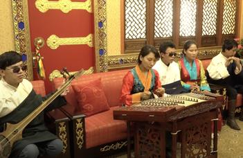 Tradicionális tibeti hangszerek
